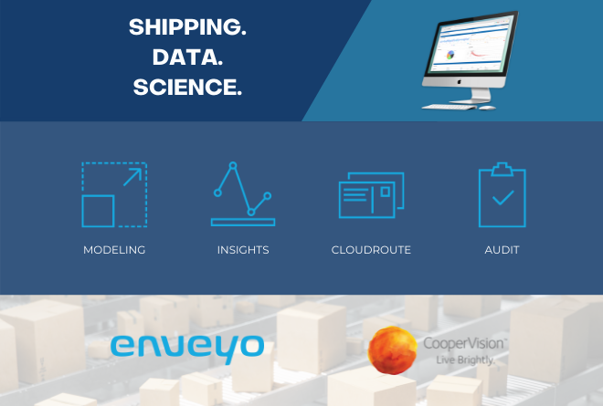 Enveyo's Logistics Software Suite Helps CooperVision Save $4.7 Million in Contracted Shipping Costs