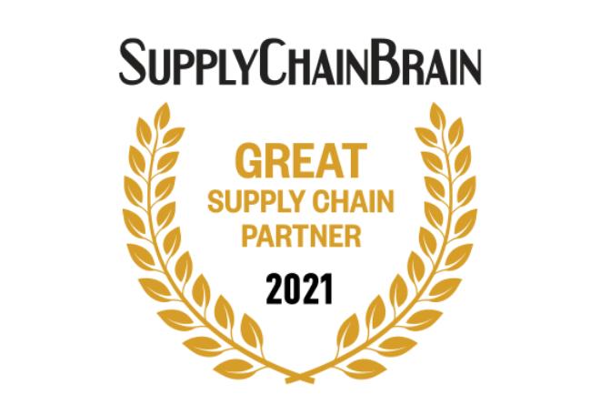 SupplyChainBrain 2021 Award Logo